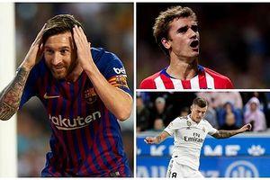 Đội hình đắt giá nhất La Liga 2018: Barca qua mặt Real