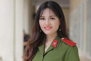 Vẻ đẹp rạng ngời của nữ 'thủ khoa kép' xinh đẹp HV Cảnh sát nhân dân