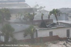 Hãi hùng sức gió hủy diệt của siêu bão Michael đổ bộ nước Mỹ