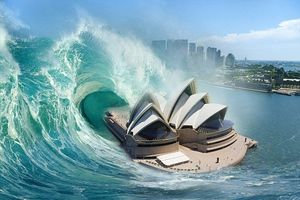 Chuyên gia cảnh báo Australia sẽ phải đối mặt với sóng thần cao tới 60 m
