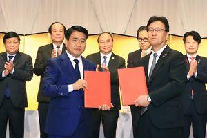 Hà Nội ký kết biên bản hợp tác đầu tư trị giá 1 tỷ USD