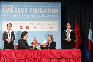 Ra mắt tổ chức giáo dục Embassy Education