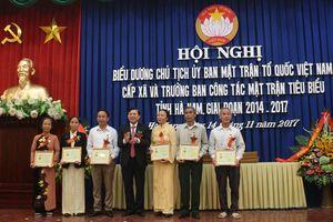 Hà Nam: Chỉ đạo điểm tổ chức Đại hội MTTQ tại cấp xã, cấp huyện