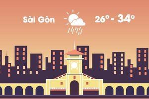 Thời tiết ngày 12/10: Hà Nội nắng ráo, Sài Gòn mưa rào về chiều