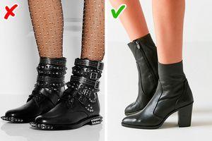 9 sai lầm khiến đôi giày của bạn trông rẻ tiền