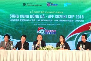 Thêm kênh tiếp cận AFF Suzuki Cup 2018 cho người hâm mộ bóng đá Việt Nam