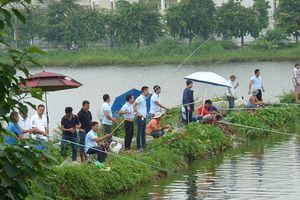 Hội đam mê câu lục 24/7 tổ chức thi câu cá giao lưu tại hồ Thạch Bàn
