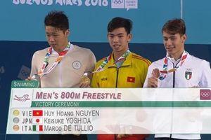 Kinh ngư Huy Hoàng gây sốc khi giành HCV Olympic trẻ 2018