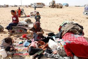 Mỹ đẩy trại Rukban vào tình trạng thảm khốc