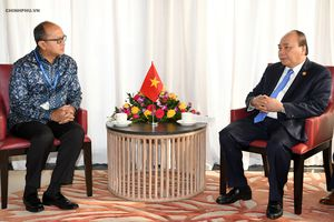 Thủ tướng tiếp Chủ tịch Phòng Công nghiệp và Thương mại Indonesia