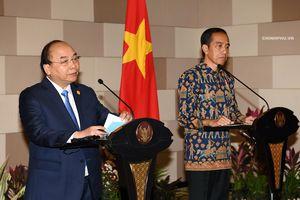 Tạo đột phá mới trong quan hệ đối tác chiến lược Việt Nam-Indonesia
