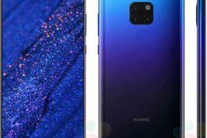 Huawei Mate 20 khoác màu gradient Twilight đẹp xuất sắc