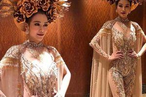 Người đẹp Bến Tre thi Miss Earth giành giải vàng quốc phục