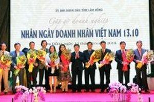 Tôn vinh các doanh nghiệp, doanh nhân tiêu biểu tỉnh Lâm Đồng
