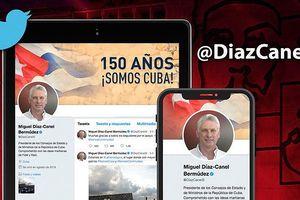 Nhà lãnh đạo Cuba đầu tiên sử dụng Twitter