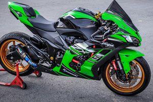 Dân chơi Sài Thành chi 30 triệu độ Kawasaki Z800 thành Sportbike