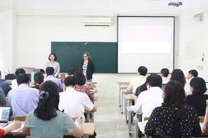 Hà Nội mời chuyên gia nước ngoài bồi dưỡng cho 5.120 CBQL, giáo viên