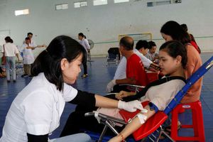 Ngày hội hiến máu tình nguyện sôi nổi và ý nghĩa