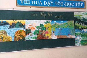 Từ ngôn ngữ văn học đến ngôn ngữ sắc màu – một biện pháp tạo hứng thú học môn Ngữ văn