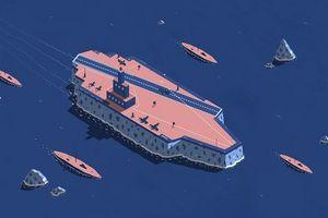 Vương quốc Anh bí mật xây tàu chiến băng trong Thế chiến thứ II