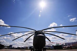 Nga sắp hoàn tất thử nghiệm trực thăng quân sự hạng nặng Mi-26T2V