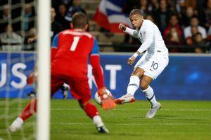 Mbappe giải cứu tuyển Pháp trong trận giao hữu với Iceland