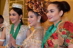 Nguyễn Phương Khánh đoạt huy chương vàng trang phục dân tộc 'Miss Earth 2018'