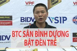 Thua trận, HLV của Hà Nội than phiền về BTC sân Bình Dương