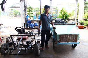 Anh nông dân Củ Chi chưa học hết lớp 3, bán bò chế xe 4 bánh 'mui trần'