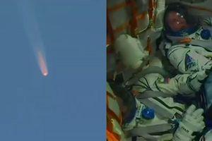 Giây phút phi hành gia thoát chết thần kì khi tàu vũ trụ Nga gặp sự cố