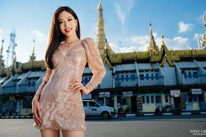 Ảnh chân dung của Á hậu Phương Nga dẫn đầu bình chọn ở Miss Grand