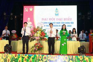 Chị Vũ Hồng Luyến làm Chủ tịch Hội sinh viên tỉnh Hưng Yên khóa III
