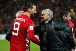 Mourinho gây sốc, muốn đưa Ibrahimovic trở lại M.U