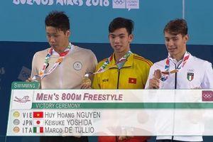 Nguyễn Huy Hoàng giành HCV Olympic trẻ, phá kỷ lục quốc gia