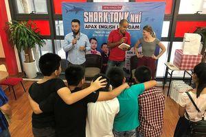 Hà Nội: Các em nhỏ hào hứng với chương trình 'Shark Tank nhí'