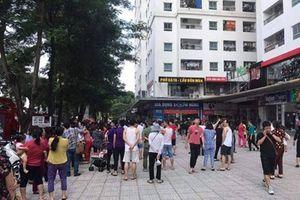 Vụ hỏa hoạn đã khiến cả nghìn cư dân chung cư HH Linh Đàm hoảng loạn