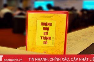 Hà Tĩnh sẵn sàng Lễ công bố Di sản thế giới 'Hoàng Hoa sứ trình đồ'