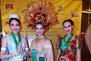 Phương Khánh giành huy chương vàng phần thi trình diễn trang phục dân tộc tại Miss Earth 2018