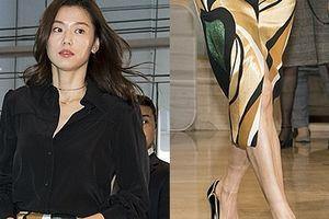 'Mợ chảnh' Jeon Ji Hyun dù đẹp rạng ngời vẫn mất điểm vì đôi chân gân guốc