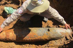 Quảng Trị: Xử lý và di chuyển thành công 590 vật liệu nổ tại công trình xây dựng