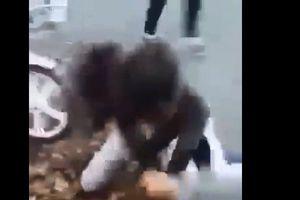 Tạm đình chỉ học hai nữ sinh lớp 7 lao vào đánh nhau tới tấp