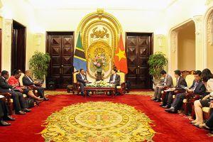 'Sẽ có nhiều doanh nghiệp ở Việt Nam đầu tư vào Tanzania'