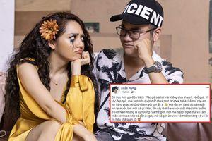 Bị Bảo Anh trách vì không share MV, phản ứng của Khắc Hưng khiến cư dân mạng… ngơ ngác