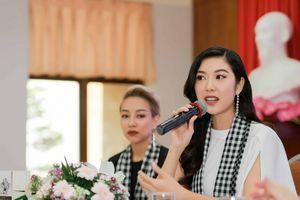 Người đẹp Thúy Vân chia sẻ bí quyết tại chương trình khởi nghiệp cho sinh viên