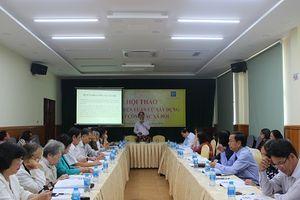 TP.HCM: Hội thảo 'Hoàn thiện luận cứ xây dựng luật công tác xã hội'