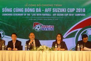 Khởi động chương trình 'Sống cùng bóng đá - AFF Suzuki Cup 2018'