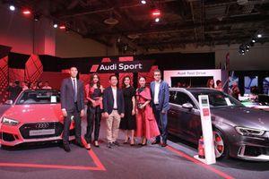 Hình ảnh các đại sứ Audi tại triển lãm ABE Singapore 2018