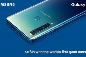 Hình ảnh điện thoại Samsung Galaxy A9 (2018) lần đầu được tiết lộ