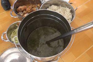 Công an vào cuộc điều tra vụ trường mầm non bị tố cho trẻ ăn cơm gạo mốc