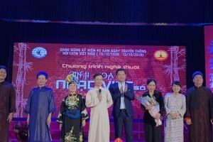 Tinh hoa nhạc Việt số 1: Bức tranh đa màu sắc về âm nhạc cổ truyền dân tộc Việt Nam